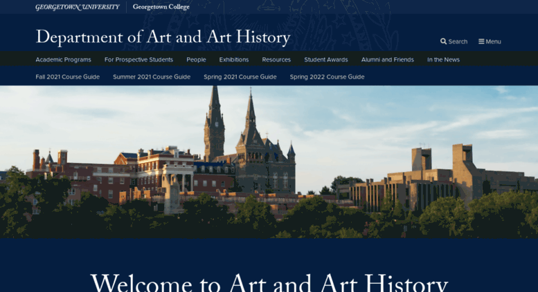 Access Art Georgetown Edu Department Of Art And Art History