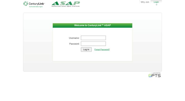 Centurylink Net Login >> Access Asaporders Net Centurylink Asap