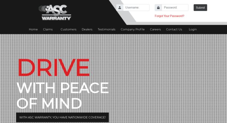 Access Ascwarranty Com Asc Warranty