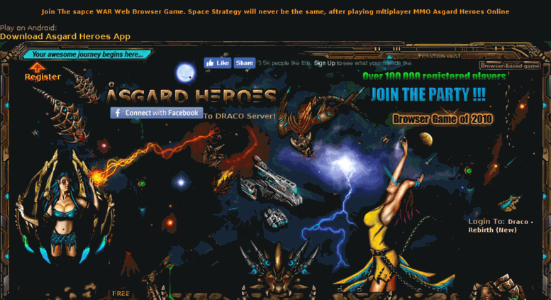 Access asgardheroes com  Online Strategy Web Browser Game - Play