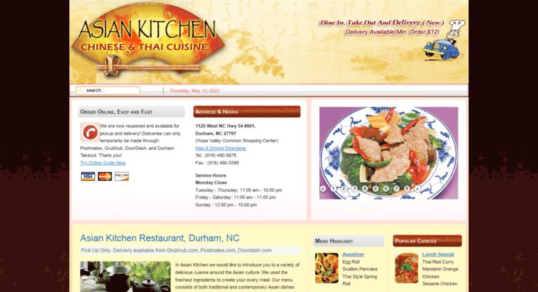 Access Asiankitchennc Com Order Online Asian Kitchen