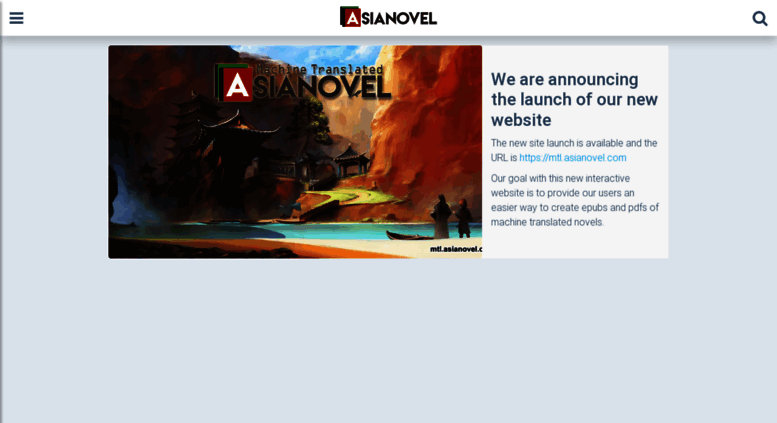 Access asianovel com  ASIANOVEL • Create your own epubs and pdfs