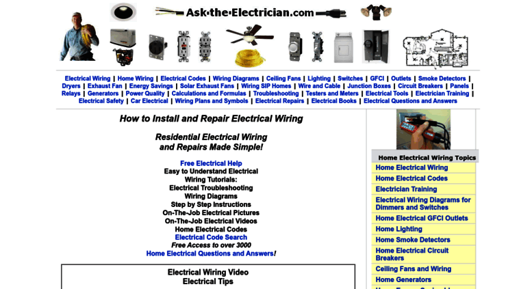 Remarkable Access Ask The Electrician Com Electrical Repairs Electrical Wiring Digital Resources Counpmognl