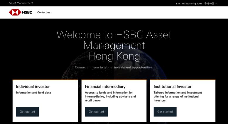 Access assetmanagement hsbc com hk  HSBC Global Asset Management