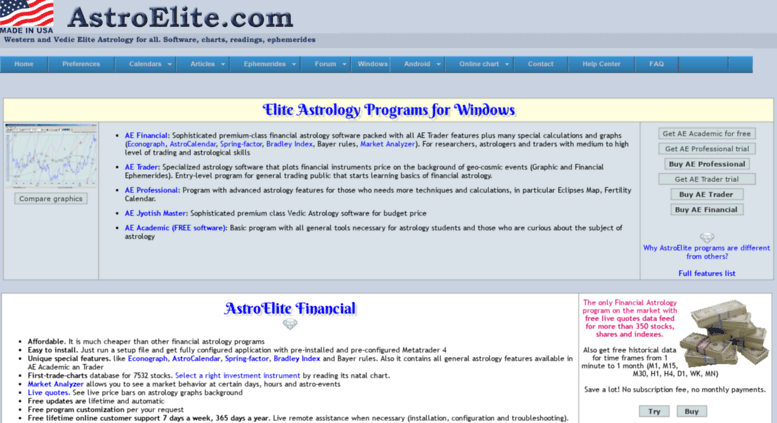 Access astroelite com  Astrology Software and Ephemeris for