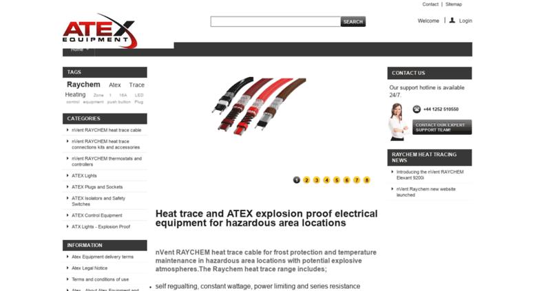 Access atexequipment com  Atex equipment trace heating