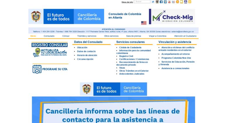a3f5fa2d6d atlanta.consulado.gov.co screenshot