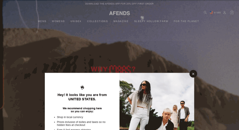 0d4f84a4 Access au.afends.com. Afends Official - Byron Bay Clothing & Fashion ...