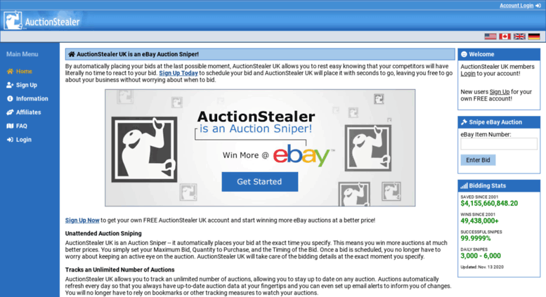 Ebay Bid Sniper >> Access Auctionstealer Co Uk Auctionstealer Uk Free Online Ebay