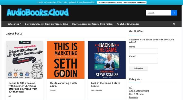 Access audiobooks-free com  AudioBooks Cloud™| Download Unlimited