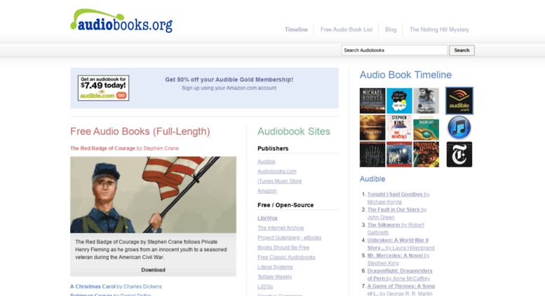 Access audiobooks org  Audiobooks org | Free Audio Books