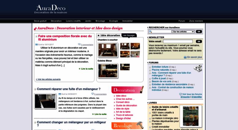 Access auradeco.com. AuraDeco : Decoration interieur et Idee ...