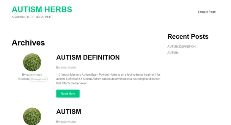 Access autismherbs com  Autism Herbs Treatment Cure, Autism