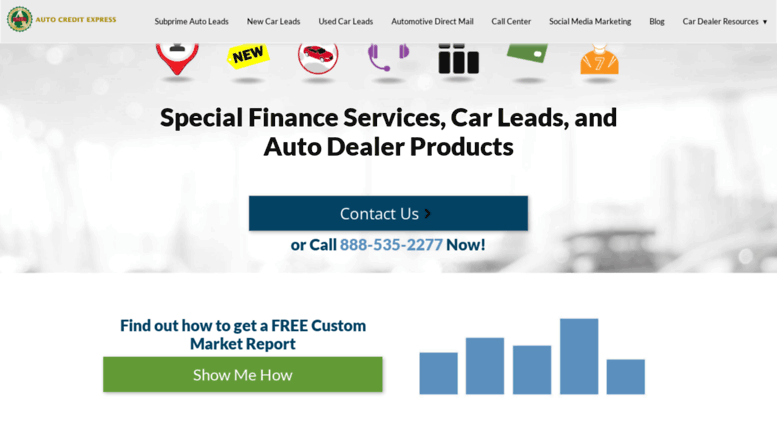 Auto Credit Express >> Access Autocreditexpress Net Sell More Cars With Auto