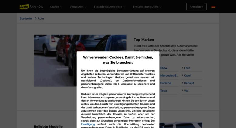 Access Autokatalogautoscout24de Autoscout24 Marken Und