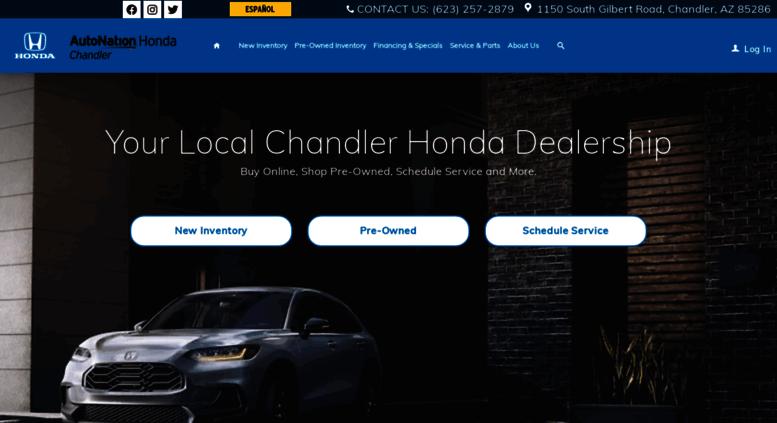Honda Dealership Az >> Access Autonationhondachandler Com Honda Dealership Near Me
