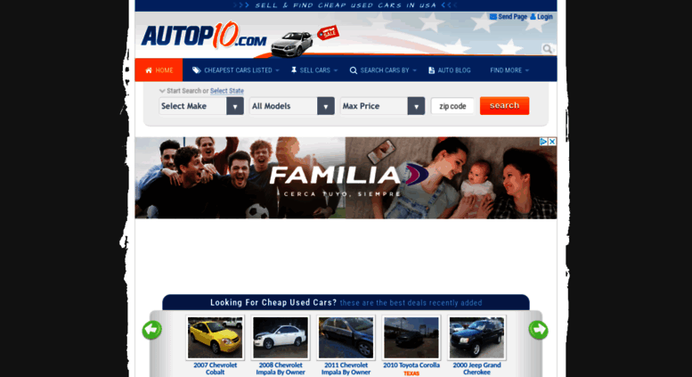 Access Autopten Com Find Or Sell Cheap Used Cars Starting