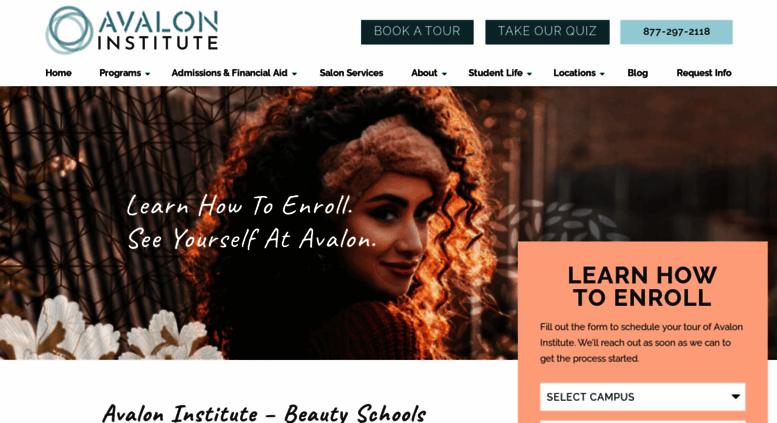 Access avalon.edu. Beauty School in AZ, CA, UT  Avalon ...