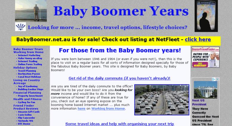 Baby Boomer dating online wat te doen als man is op dating sites