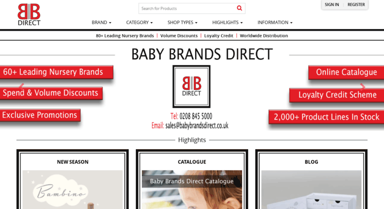 Babybrandsdirect Co Uk Screenshot