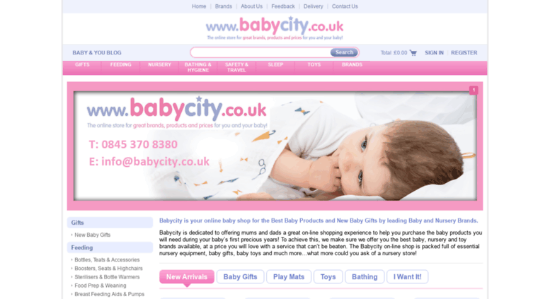 Access Babycity Co Uk Your