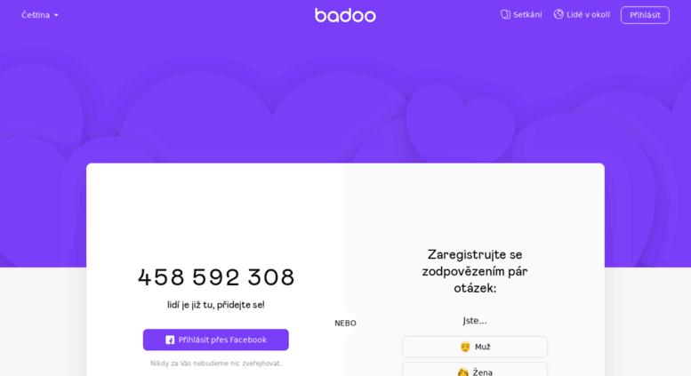 Cz badoo Badoo seznamka