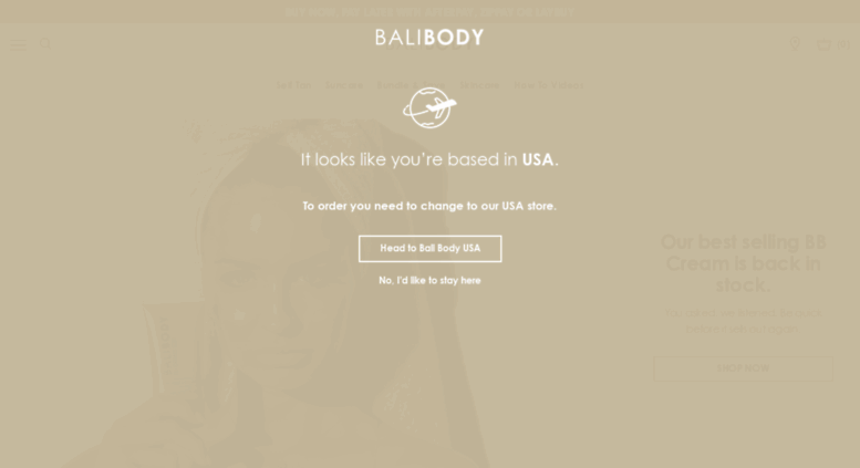 Access Balibody Myshopify Com Natural Tanning Oil Skincare Range
