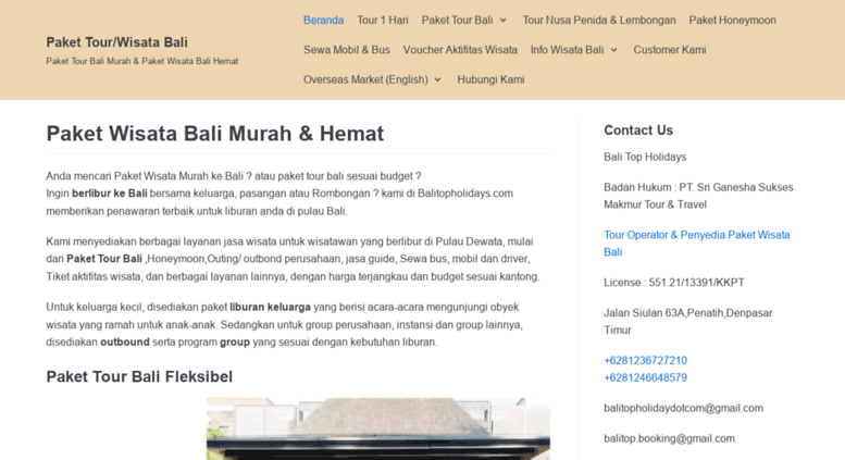 Access Balitopholidays Com Balitopholidays Paket Tour Bali