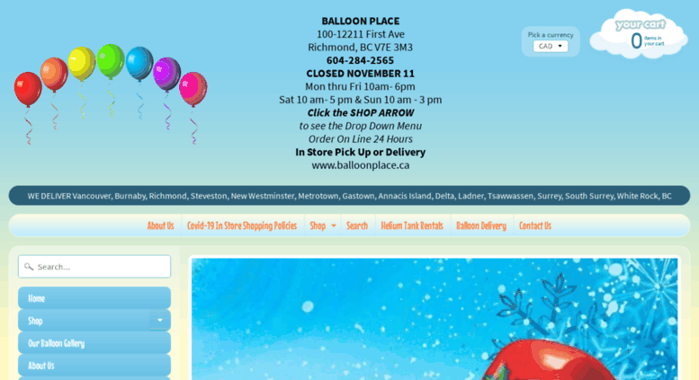 Access balloonplace ca  Balloons Richmond | Balloon Place