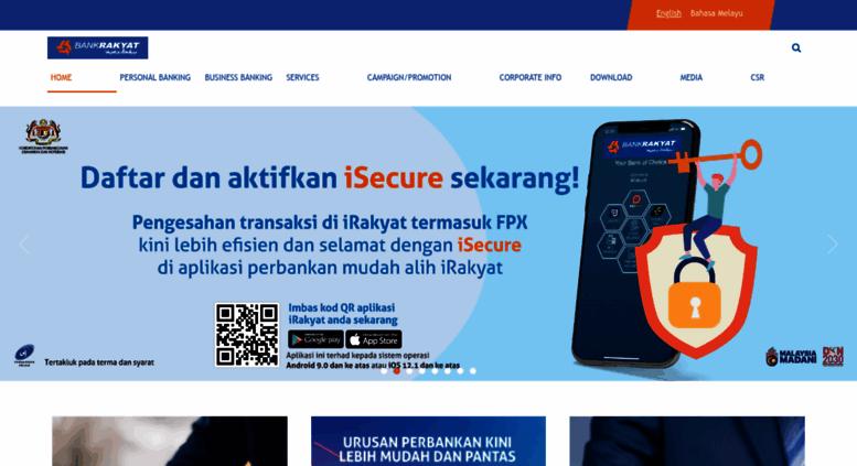 Access bankrakyat com my  Bank Rakyat