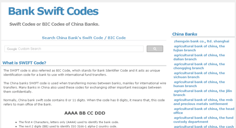 By Photo Congress || Find A Bank Swift Code