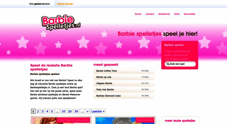 Access Barbiespelletjesnl Barbie Spelletjes Barbie Spelen Speel