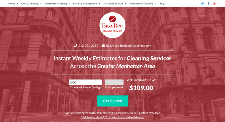 Bbcleaningservice Screenshot