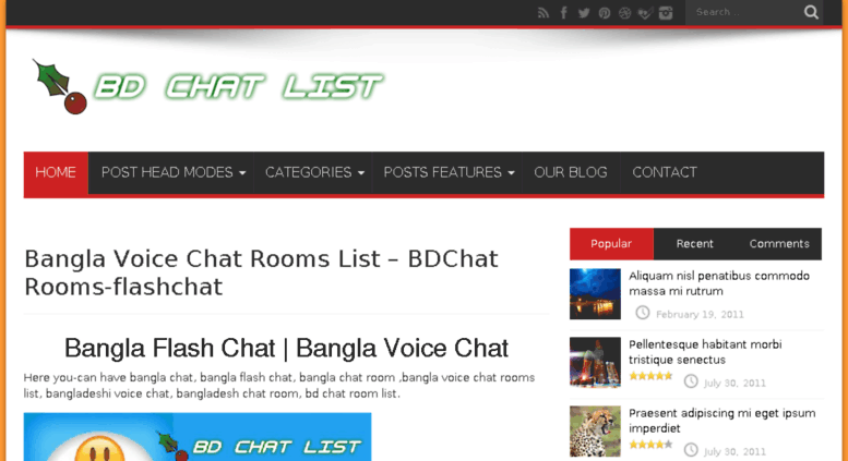 Bangladeshi chatting site