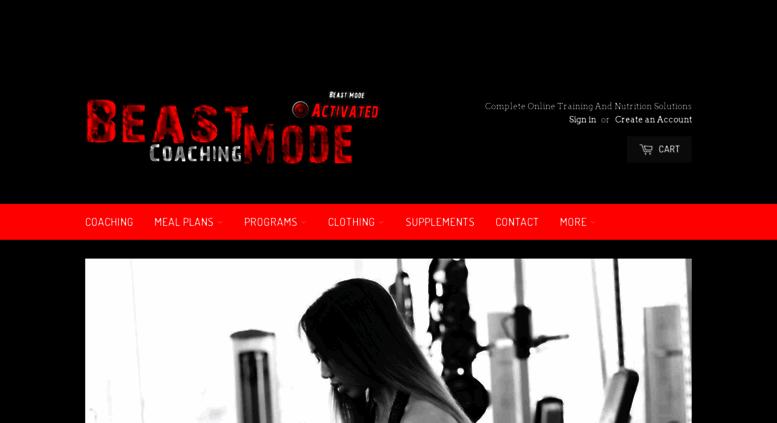 quality design 1ca5d 459da Access beastmodecoaching.myshopify.com. BeastMode Coaching ...