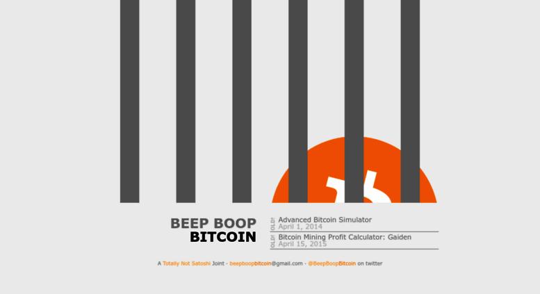 Beep boop bitcoins oberbettingen kirmes forum