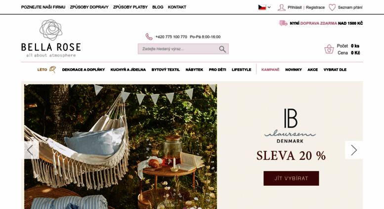 3d7cd4215a Access bellarose.cz. Skandinávské dekorace a bytové doplňky
