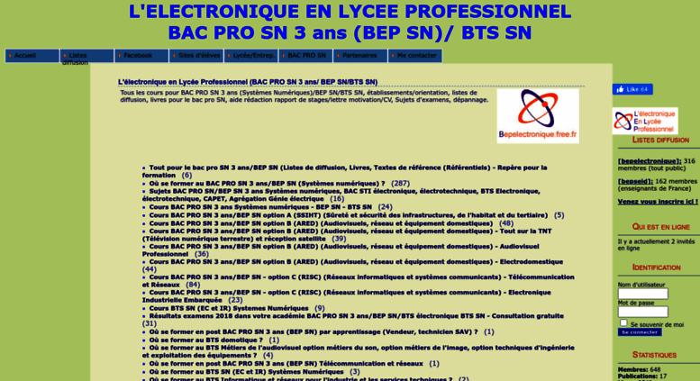 Access Bepelectronique Free Fr L Lectronique En Lyc E