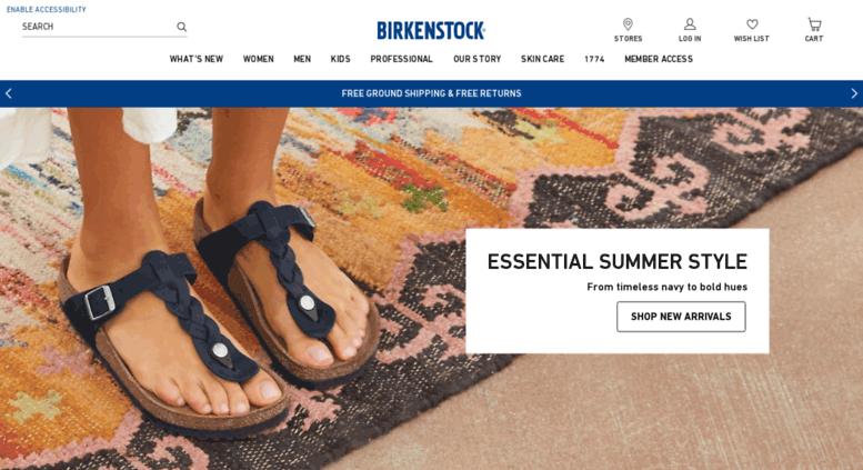 cbb404beb2f Access bessergehen.com. BIRKENSTOCK USA Online Shop