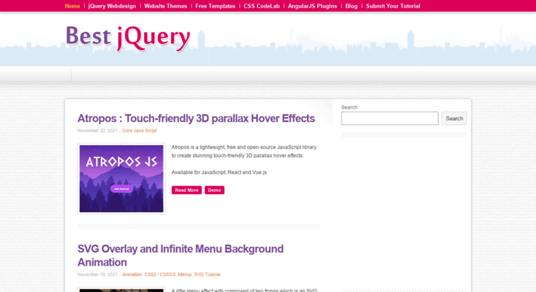 Access bestjquery com  8500+ Best jQuery Plugins & Tutorials