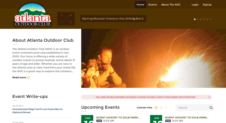Beta Atlantaoutdoorclub Screenshot