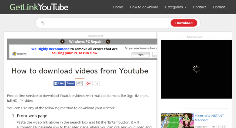 download youtube videos free mp4 format video online