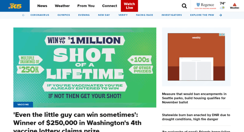 Access beta king5 com  Seattle's Leading Local News: Weather