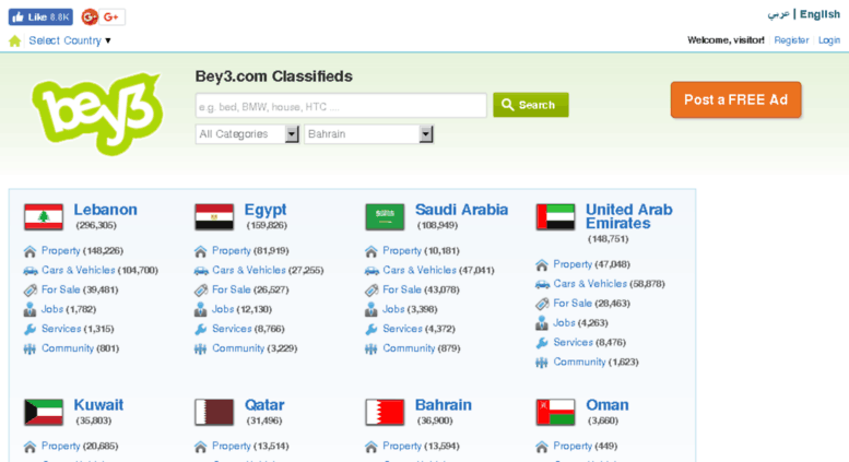 Access bey3 com  Middle East Free Classified Ads, Jobs