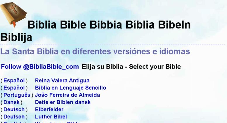 biblen på dansk