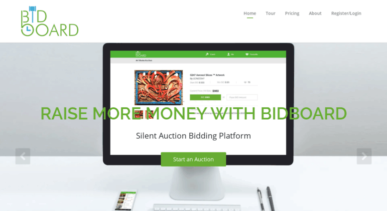 silent auction bidding apps