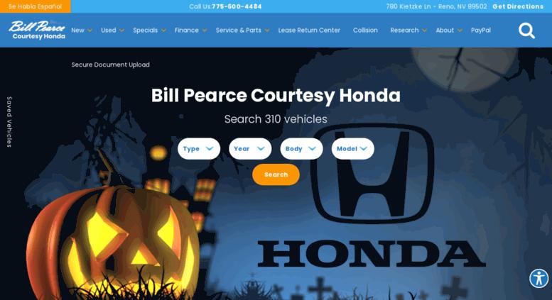 Bill Pearce Honda >> Access Billpearcehonda Com Bill Pearce Courtesy Honda New Used