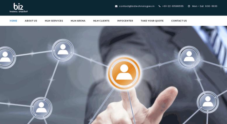Access bizmlm in  MLM Software Development Company Mumbai