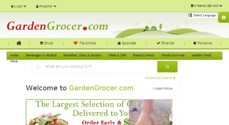 Access blog gardengrocer com  Disney World Orlando, Grocery