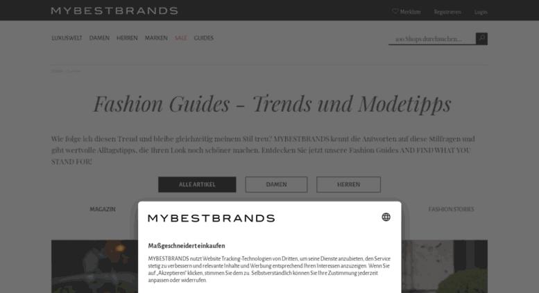 052312da307f6f Access blog.mybestbrands.de. Mode Magazin  Trends